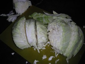 1-cabbage sliced